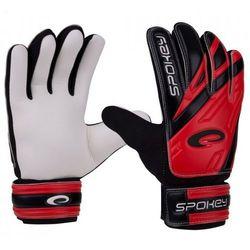 Rękawice bramkarskie SPOKEY Hold (rozmiar 7) Czarno-biało-czerwony