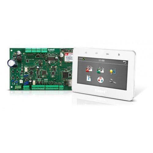 Centralki alarmowe, Komplet: Centrala alarmowa VERSA Plus, manipulator INT-TSG-WSW Satel