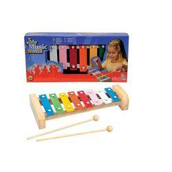 My Music World Drewniane cymbałki - Simba Toys. DARMOWA DOSTAWA DO KIOSKU RUCHU OD 24,99ZŁ