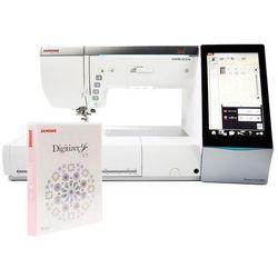 Maszyno-hafciarka Janome MC15000 + Janome Digitizer Jr 5.0 + WiFi