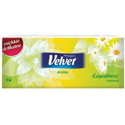 VELVET 10x9szt Aroma Chusteczki higieniczne zapachowe rumianek
