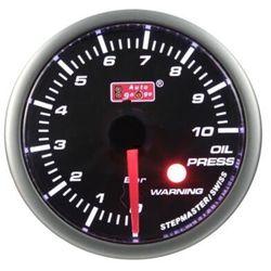Wskaźnik ciśnienia oleju Auto Gauge warning
