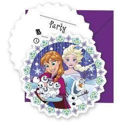 Zaproszenie urodzinowe Frozen - Kraina Lodu - 1 szt.