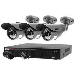 Monitoring zestaw: Rejestrator 5W1 LV-XVR44SE + 3x Kamera LV-AL20MT