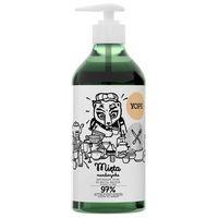 Płyny do zmywania, YOPE naturalny płyn do mycia naczyń MIĘTA I MANDARYNKA