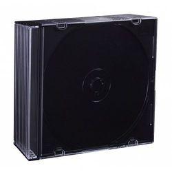 Esperanza PUDEŁKO NA 1 CD SLIM 5,2mm BLACK PAK 10