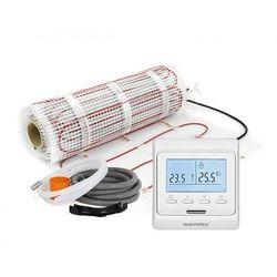 Mata grzejna + regulator temperatury + akcesoria: Kompletny zestaw Warmtec DS2-35/T510 3,5m2 (170W/m2)