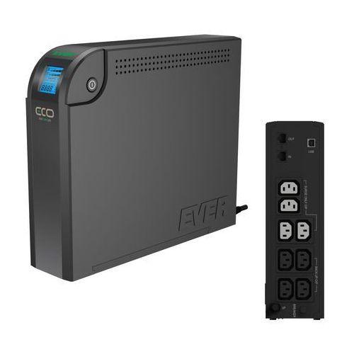 Zasilacze UPS, UPS Ever Eco 800 LCD