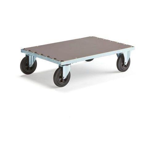 Wózki widłowe i paletowe, Wózek platformowy, bez hamulców, 700x1000mm