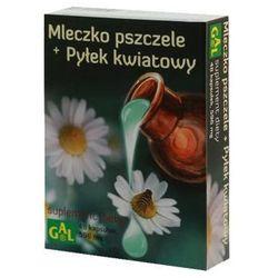 MLECZKO PSZCZELE + PYŁEK KWIATOWY 48kaps