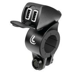 Lampa Usb-Fix Trek, wodoodporna ładowarka USB do kierownicy - Ultra Fast Charge - 5400 mA - 12/24 V