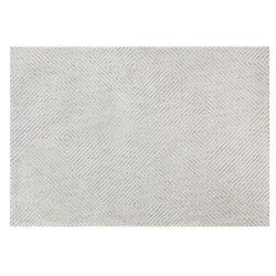 Dywan żakardowy z wypukłym wzorem ROMILDA - 100% poliestru - 120 x 170 cm - kolor szary