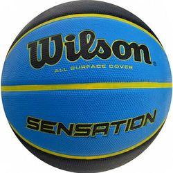 Piłka koszykowa Wilson Sensation 7 SR 295 BSKT Orblu WTB9118XB0702