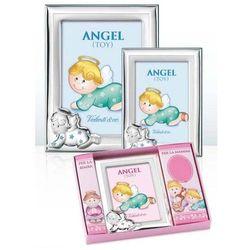 Ramka na zdjęcia raczkujący aniołek - (VJ#10602)