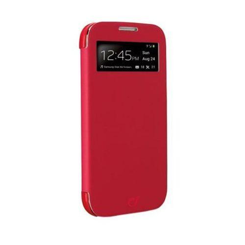 Etui i futerały do telefonów, Pokrowiec CELLULAR LINE Book Id Samsung Galaxy S4 Czerwony