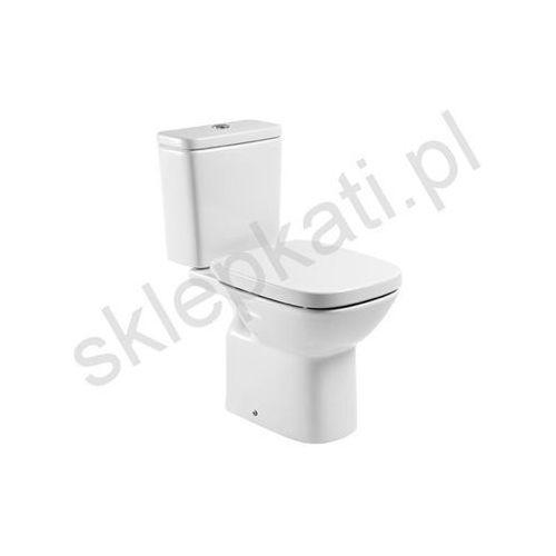 Miski i kompakty WC, ROCA DEBBA Miska kompaktowa 66,5cm, odpływ poziomy A342997000