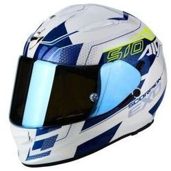 SCORPION KASK EXO-510 AIR GALVA PEARL WH-BLUE