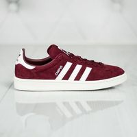 Męskie obuwie sportowe, adidas Originals CAMPUS Tenisówki i Trampki collegiate burgundy/footwear white/chalk white