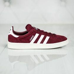 adidas Originals CAMPUS Tenisówki i Trampki collegiate burgundy/footwear white/chalk white