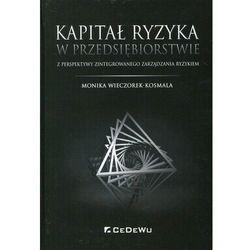 Kapitał ryzyka w przedsiębiorstwie - Monika Wieczorek-Kosmala (opr. twarda)