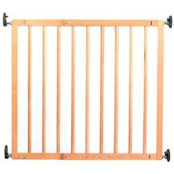 Reer Bramka zabezpieczająca na drzwi i schody Basic Simple-Lock drewno kolor naturalny
