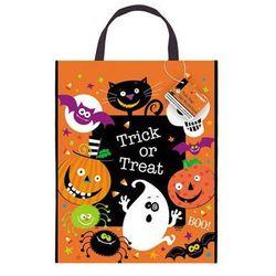 Torebka na cukierki z postaciami Halloweenowymi - 1 szt.