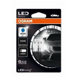 OSRAM (W5W)** Blue 12V 1W W2.1x9.5d Zamienniki LED -RETROFIT PREMIUM - 5 lat gwarancji **brak ECE