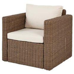 Fotel z podłokietnikami Blooma Soron 76 x 72 x 70 cm brązowy