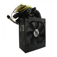 Zasilacze do obudów, Zasilacz ATX Qoltec 1600W   80 Plus Gold   Bitcoin Miner