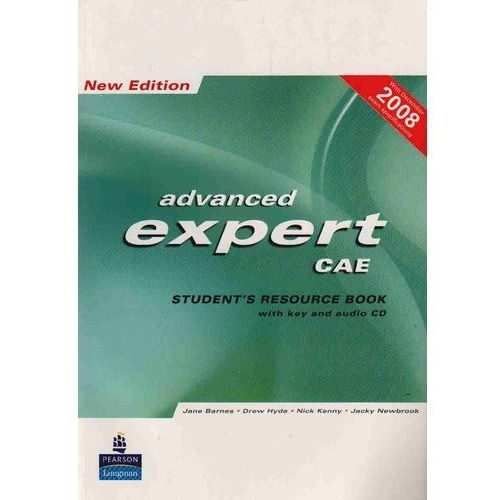 Książki do nauki języka, Advanced Expert New Edition Student's Resource Book with Key plus Audio CD (2) (opr. miękka)