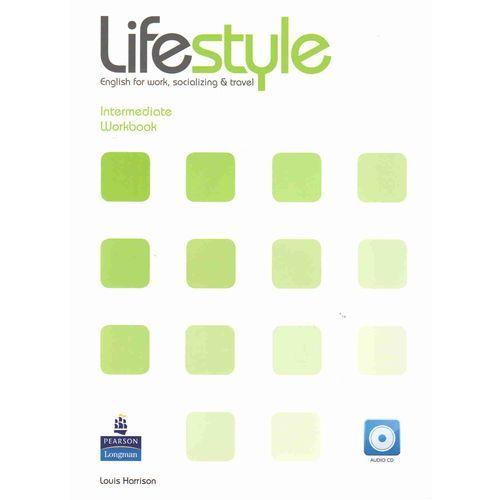 Książki do nauki języka, Lifestyle Intermediate WB CD GRATIS LONGMAN - Vicki Hollett, Norman Whitby, Iwona Dubicka (opr. miękka)