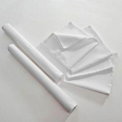Dekoria Komplet 6 szt. serwetek 42x42cm loneta śmietankowa biel, kpl