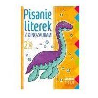 Książki dla dzieci, Ksiazeczka eduk 170x240 pisanie literek 2 lit (opr. broszurowa)