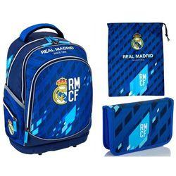 Plecak REAL MADRYT SZTYWNE DNO PLECY RM-131 ASTRA MUNDIAL