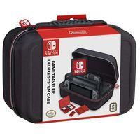 Akcesoria do Nintendo Switch, Etui BIGBEN Deluxe Czarny DARMOWY TRANSPORT