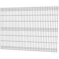 Przęsła i elementy ogrodzenia, Panel ogrodzeniowy 3D 153 x 250 cm oczko 20 x 7 5 cm drut 3 2 mm antracyt