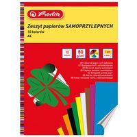 Pozostałe artykuły papiernicze, Zeszyty papierów kolorowych Herlitz (9560392)