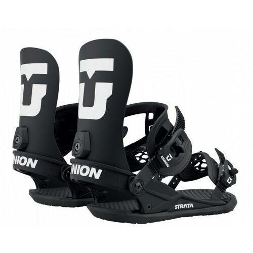 Wiązania snowboardowe, wiązania UNION - Team Force Black (BLACK) rozmiar: L