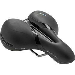 SiodeŁko rowerowe selleroyal respiro soft relaxed 90st Żel + elastomery czarny