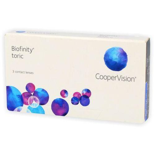 Soczewki kontaktowe, Biofinity Toric 3 szt.