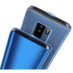 Clear View Case futerał etui z klapką Huawei Mate 20 Lite różowy