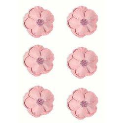 Kwiaty samop. GP papier CLEMATIS op.6 róż 252012