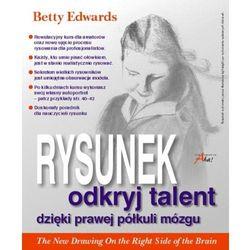 Rysunek odkryj talent dzięki prawej półkuli mózgu (opr. miękka)