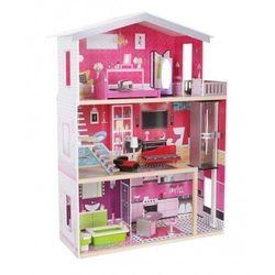 Drewniany domek dla lalek Barbie