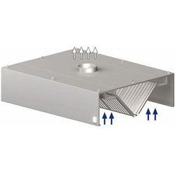 Okap centralny skrzyniowy 1600x1200x450 mm   STALGAST, 9820912160