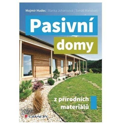 Pozostałe książki, Pasivní domy z přírodních materiálů Mojmír Hudec