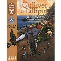 Książki dla dzieci, Gulliver in Lilliput +CD (opr. miękka)
