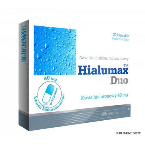 Preparaty na włosy, skórę i paznokcie, Hialumax Duo 30 kaps.
