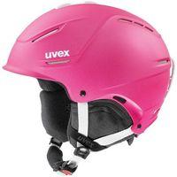 Kaski i gogle, UVEX P1Us 2.0 Kask, pink met 55-59cm 2019 Kaski narciarskie