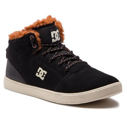 Pozostały skating, Sneakersy DC - Crisis High Wnt ADBS100215 Black/Brown/Brown (XKCC)